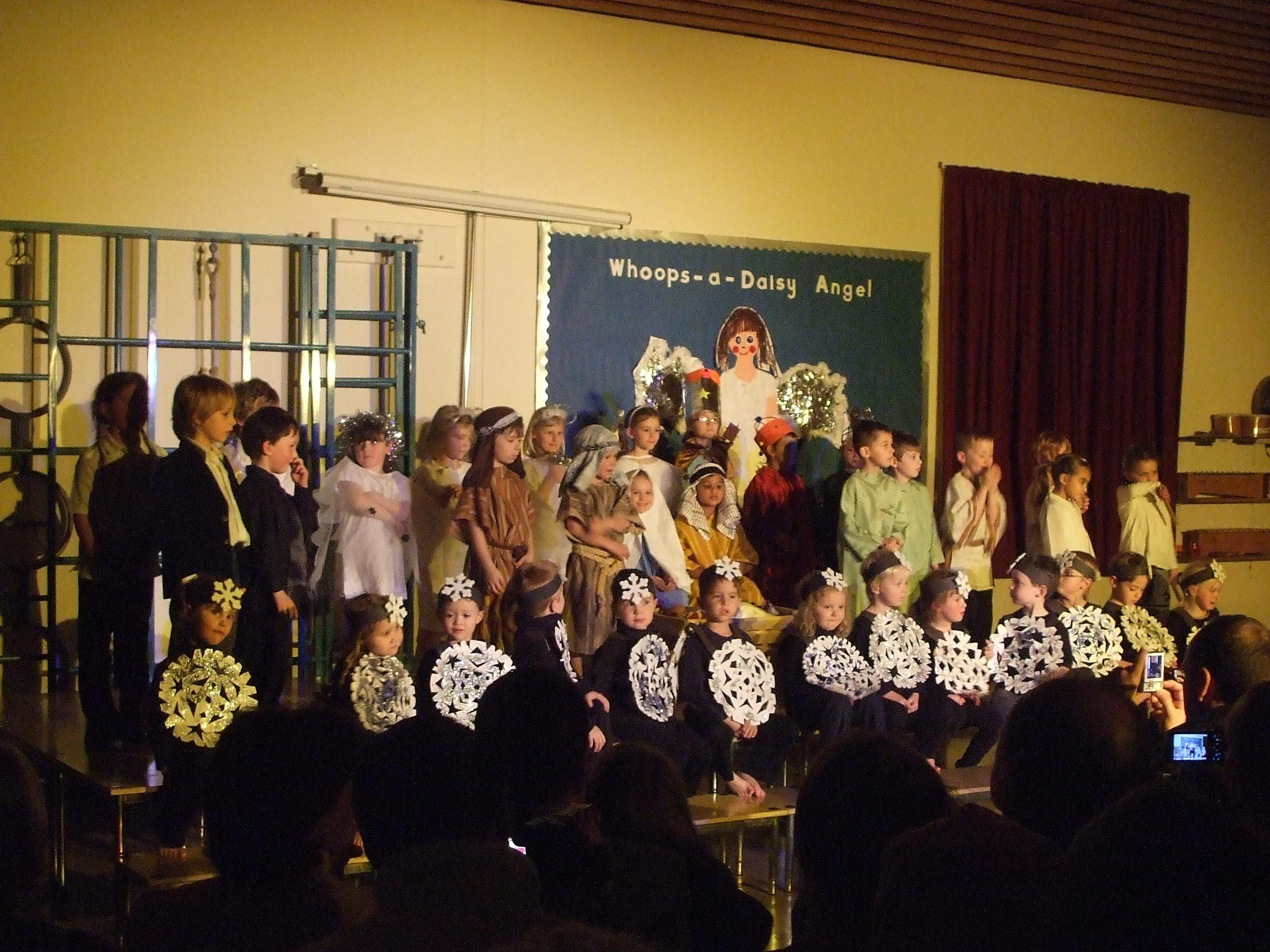 Nativity play at Hawkesbury School 2008