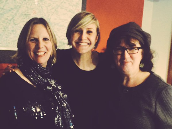Group photo of Caroline, Claire and Debbie