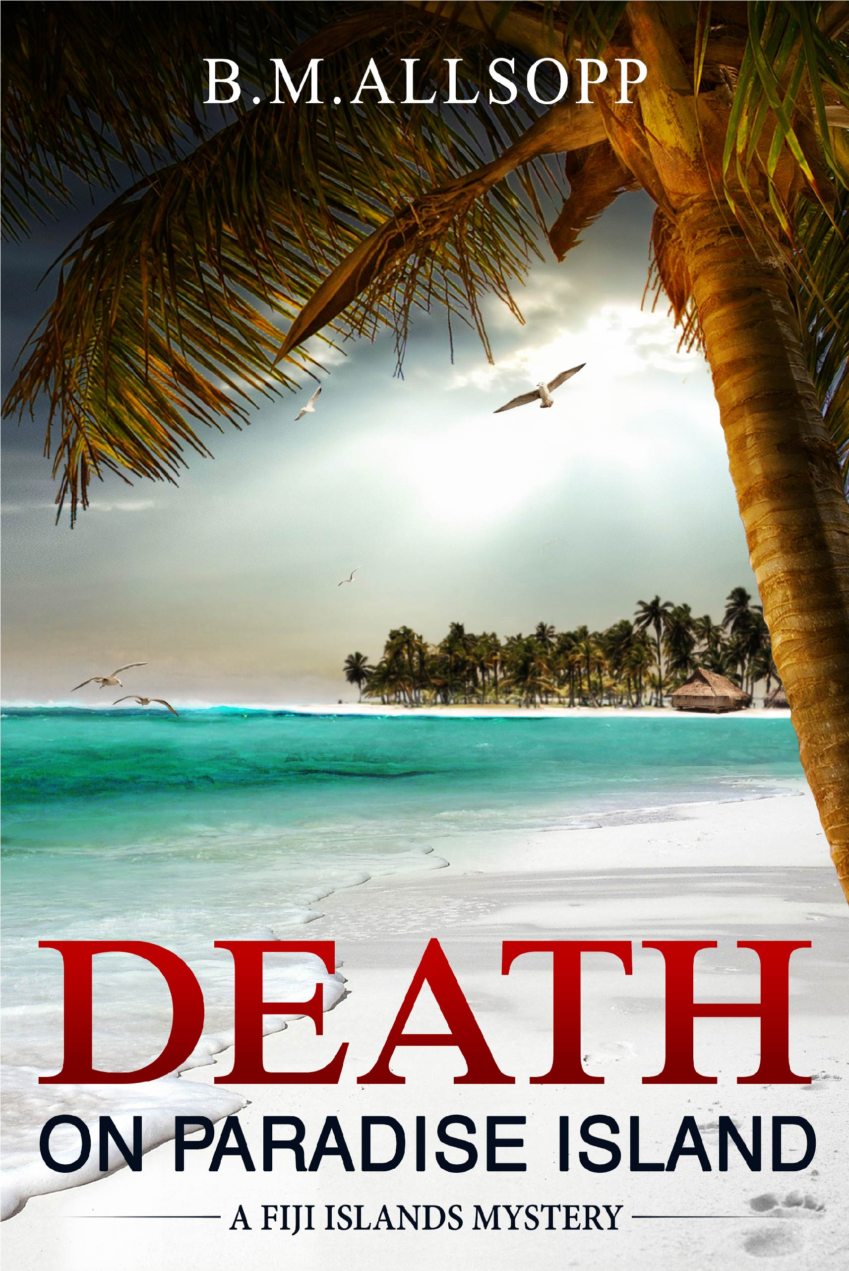 cover of Death on Paradise Island